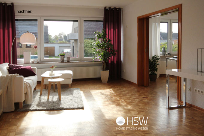 Senioren-Immobilie - HSW Home Staging Weser